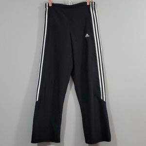 Adidas Track Pants Black with White